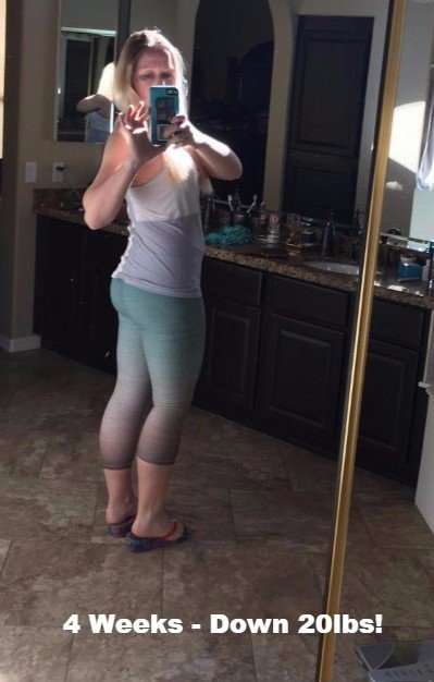 4 Weeks 20 Lbs Of Weight Loss And Engergized