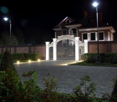 impianti d'illuminazione, illuminazione esterna, luci