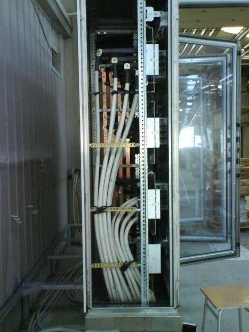 Montaggio cabine elettriche