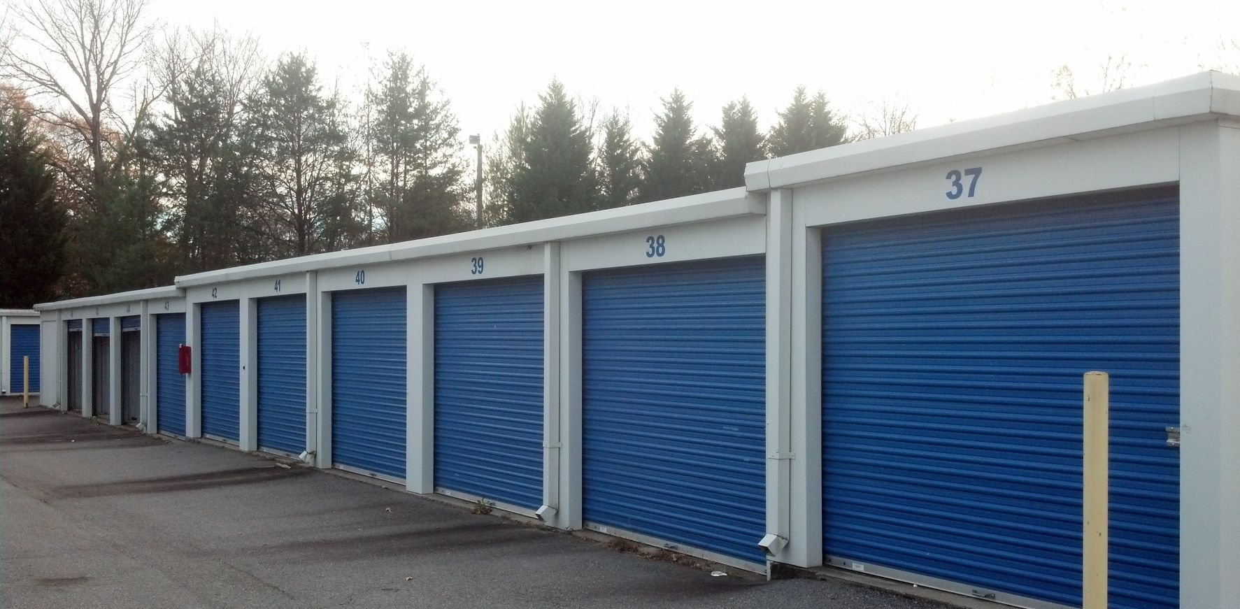 Self storage facility in High Point, NC