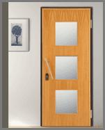 porta blindata finestrata