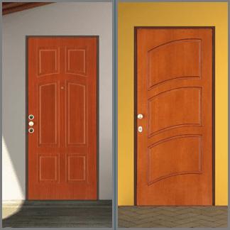 porte doppia mandata