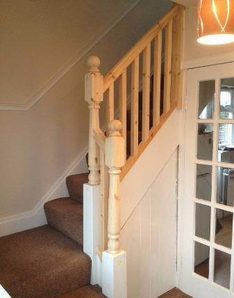 Balustrade reinstated