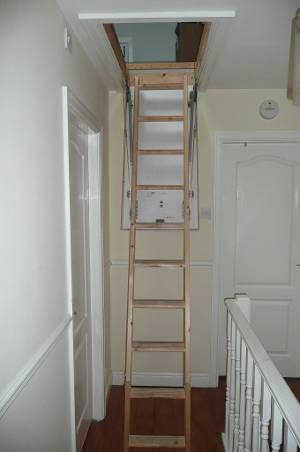 ladder installation