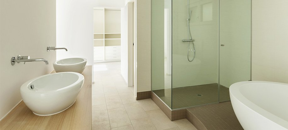 bernies trades modern bathroom