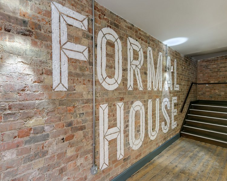 Formal House Mural Brick Wall