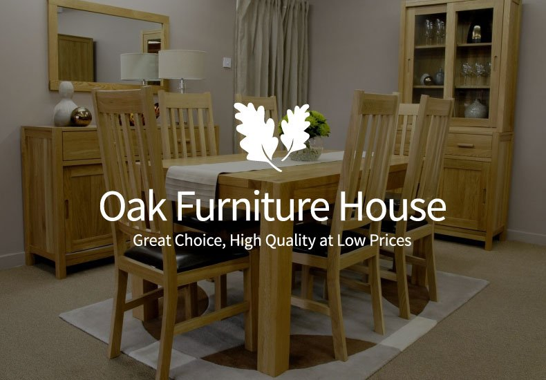 oak furniture house logo