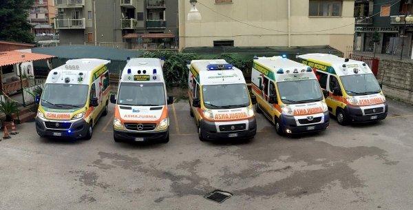 I nostri servizi - Flotta ambulanze Croce Verde Battipaglia