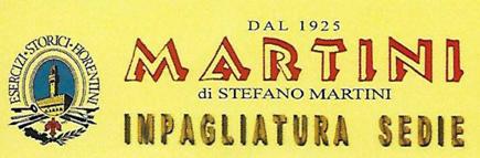 IMPAGLIATURA SEDIE MARTINI-Logo