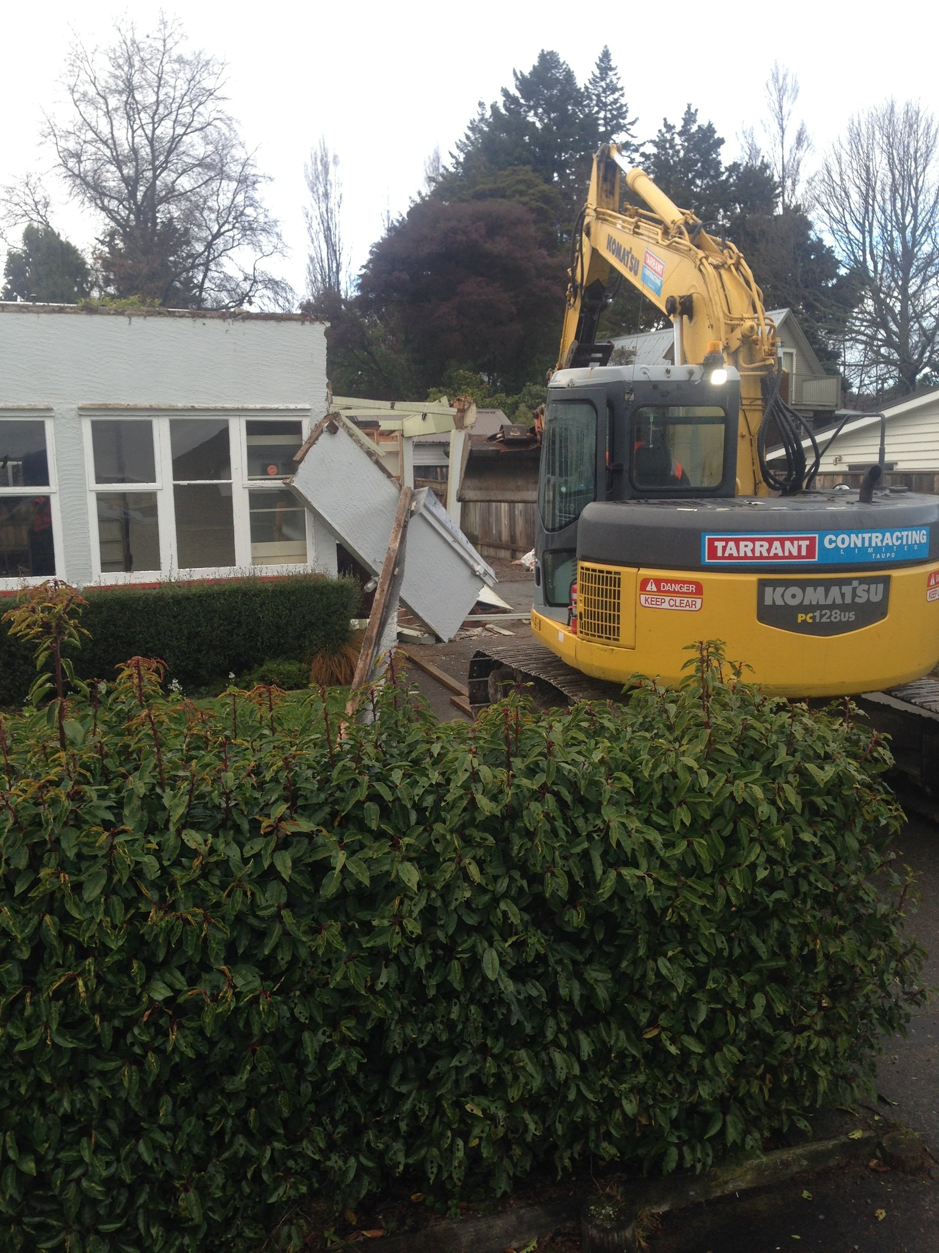 Machine available for excavator hire in Taupo