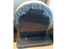 memorial stones - southampton, hampshire - allstone stonemasons - bookshaped headstone