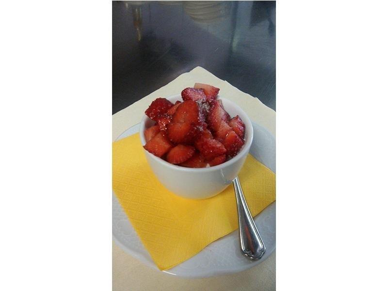 dessert fragole fresche