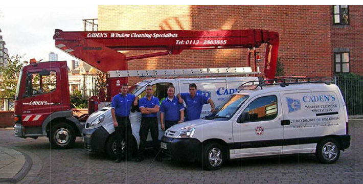 Cadens staff and vehicles