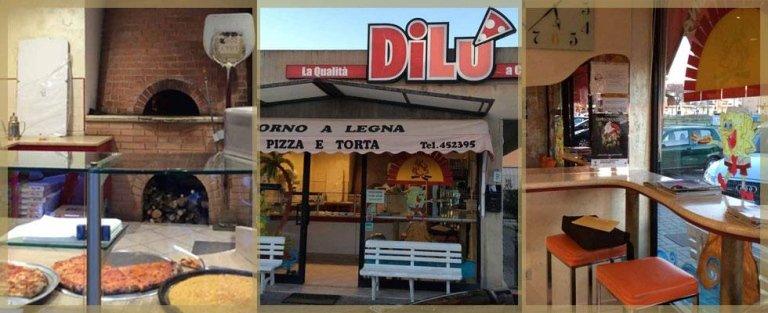 Pizze al Taglio cotte in Forno a Legna - DiLù, Grosseto (GR)