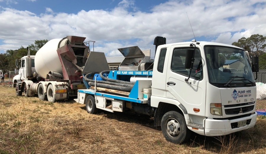 Concrete pumping Hunter Valley – ACE Pump Hire Pty Ltd