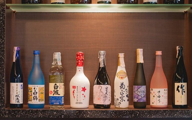 Bevande giapponesi Sushi Yanagi