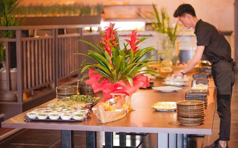 Preparazione buffet Sushi Yanagi