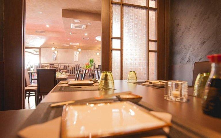 Sala privata ristorante giapponese