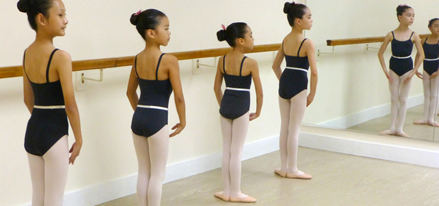 students of The St. Laurent School of Dance