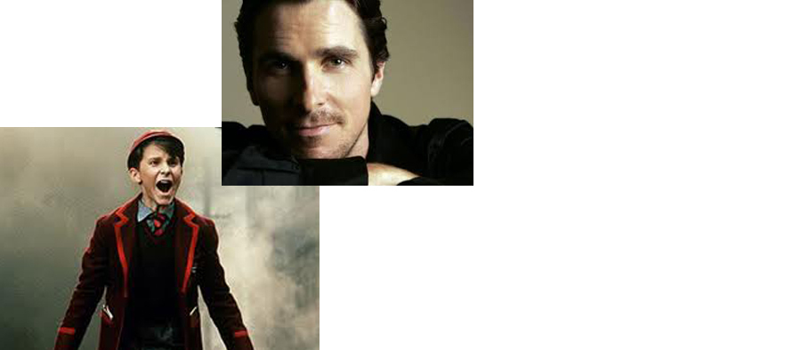 Christian Bale at St. Laurent School of Dance