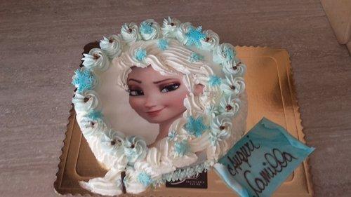torta per compleanno di camillia