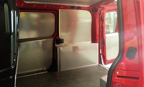 customizzazione di un furgone