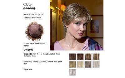 Vendita parrucche di ogni colore