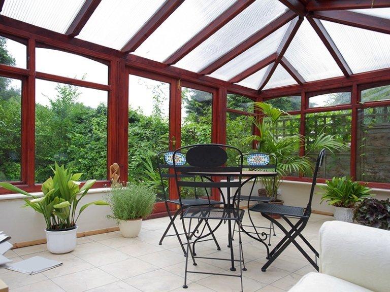 verande in legno alluminio