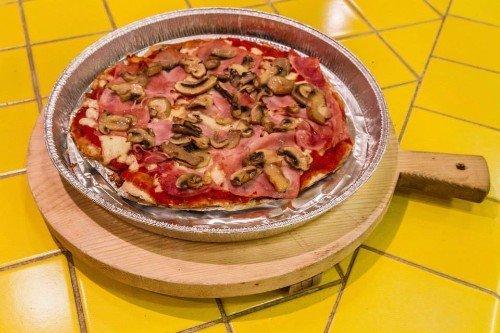 Mini pizza per bambini