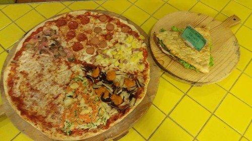 Focaccia e pizza per tutti