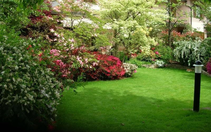 Lavori di giardinaggio parchi pubblici