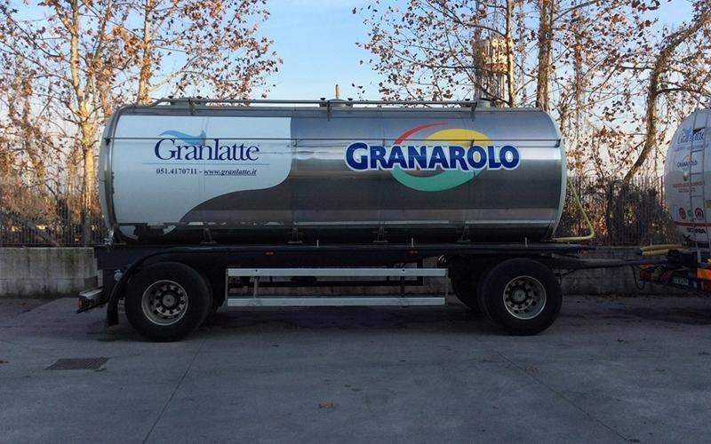 Brandani trasporto latte Granarolo