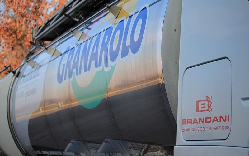 Brandani transport Granarolo products