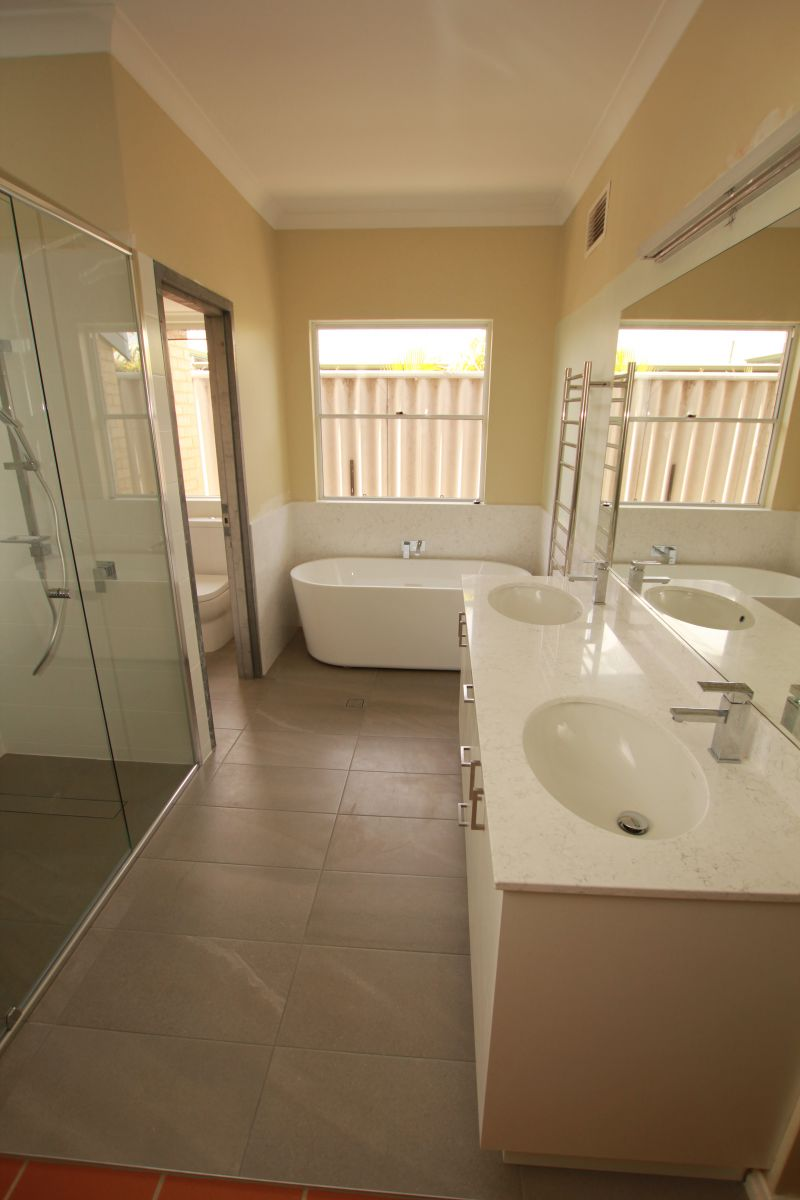 Gallery of complete bathroom renovations perth for Complete bathroom renovations