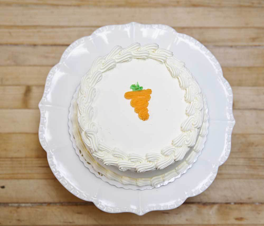 Just A Delicious Carrot Cake