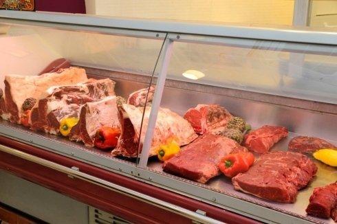 Il banco frigo della carne