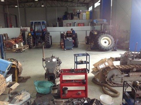 Riparazione mezzi agricoli Telti