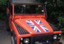 A Land Rover