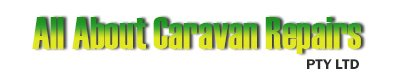 all about caravan repairs pty ltd business logo