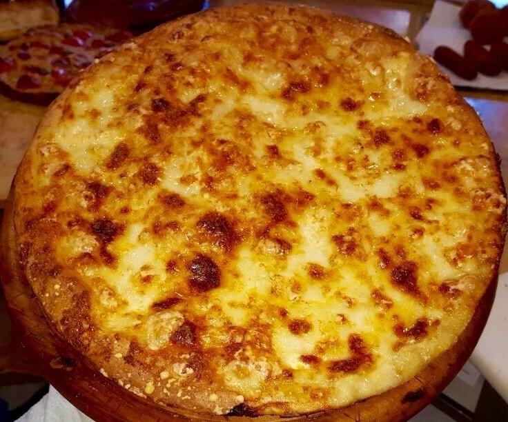 focaccia con mozzarella