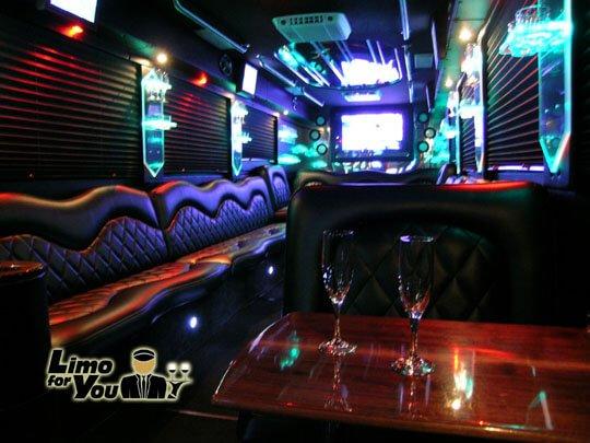 Limousine Service Party Bus Bakersfield
