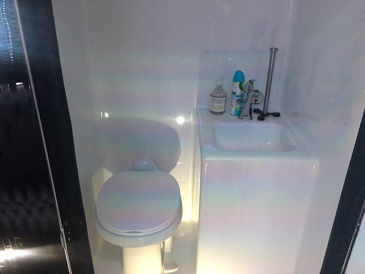bathroom on board
