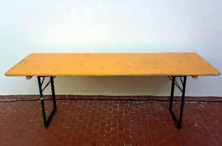Tavolo tedesco cm 220x80