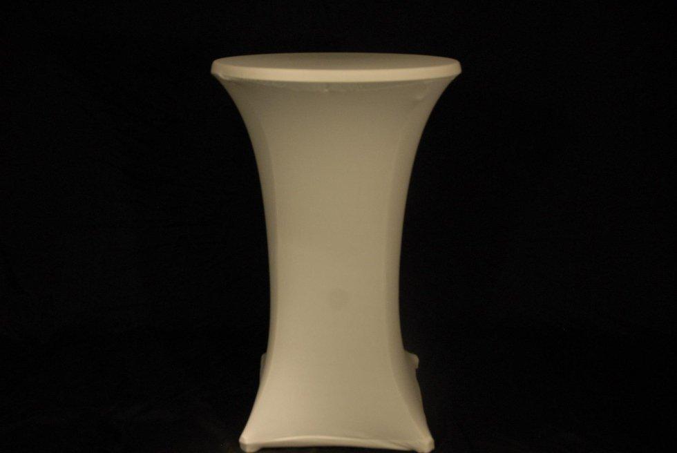 Tavolo mangiainpiedi vestina bianca