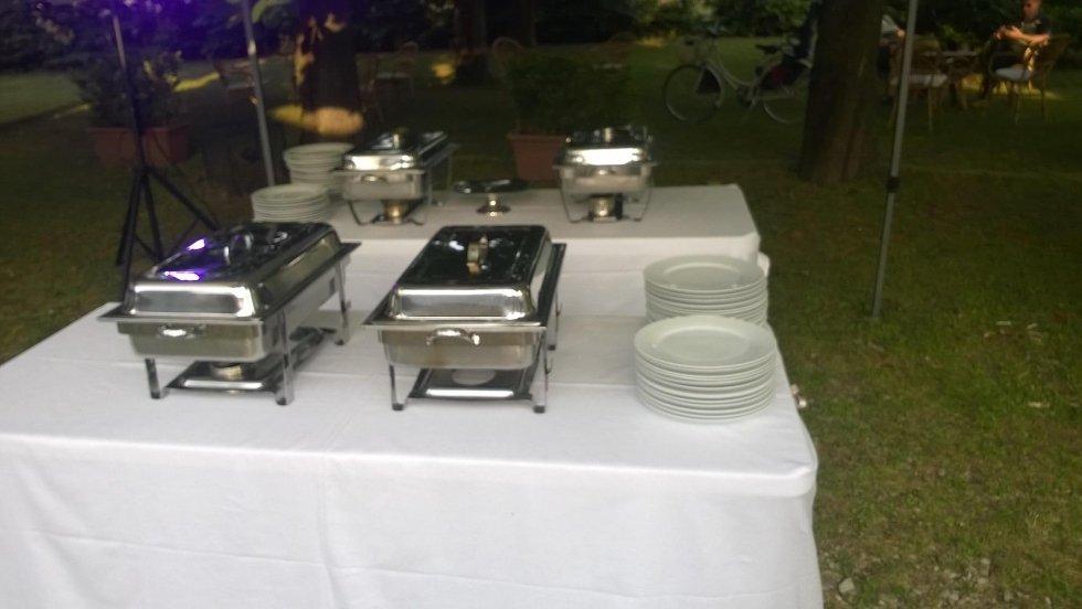 Chaffing Dish Rettangolare