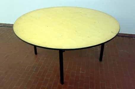 Tavolo tondo legno diam 120/150/160/180