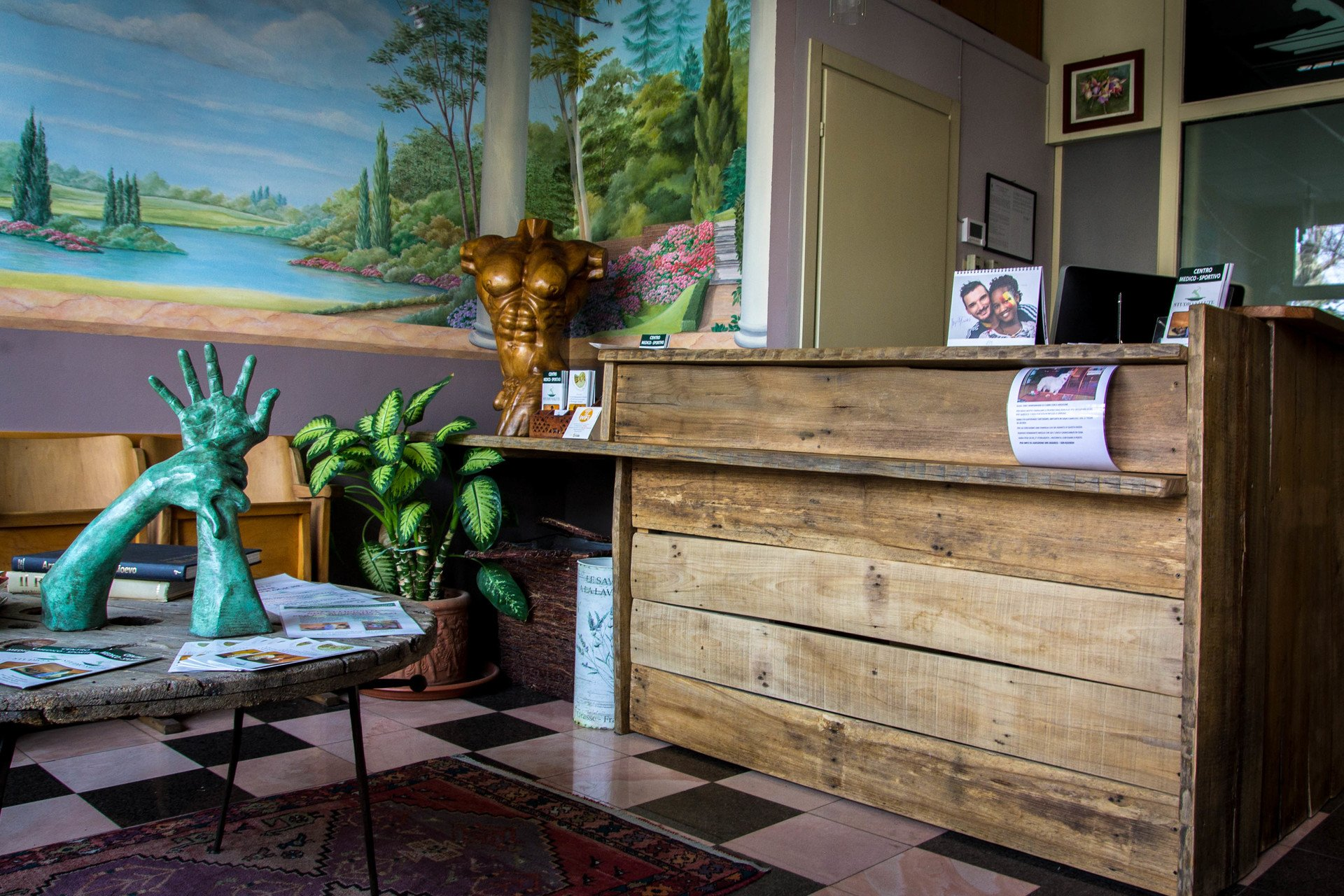 immagine della sala d'attesa dello studio