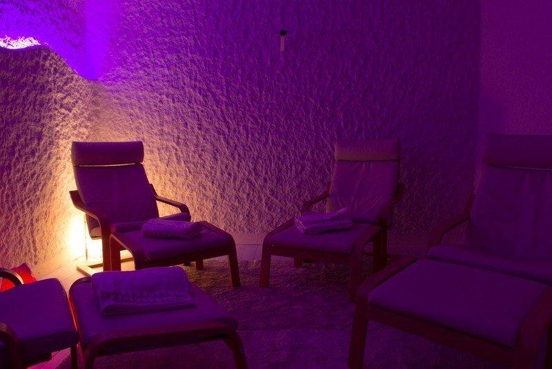 interno di sala per terapie antistress a Verona