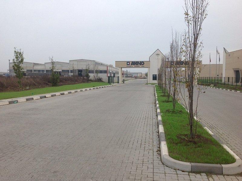 progettazione giardino azienda