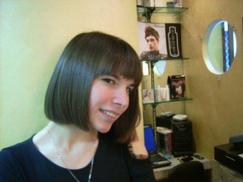 taglio di capelli, taglio caschett